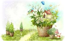 Цветы в наших домах и садах