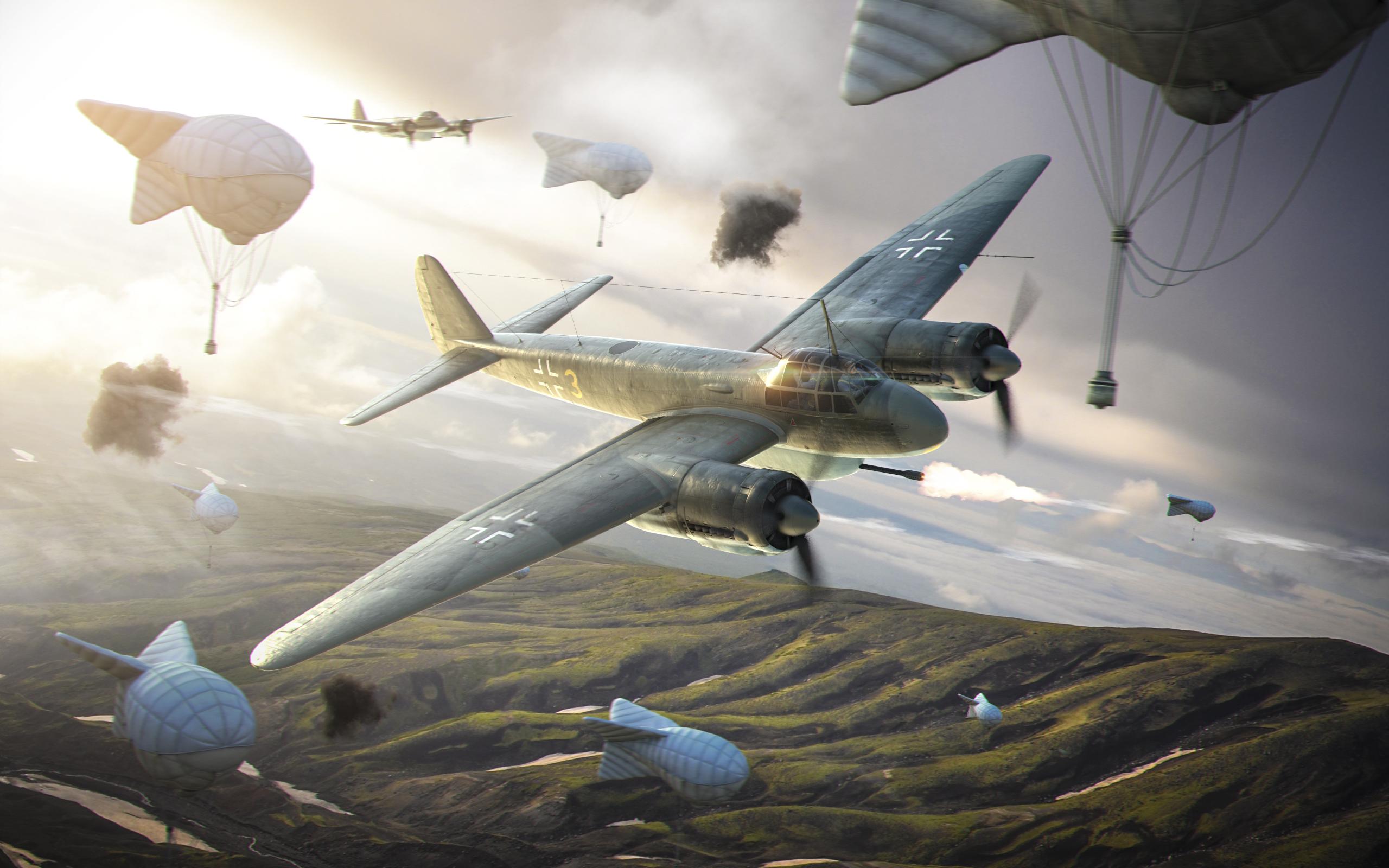 рисунок World Of Warplanes Ju-88