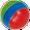 Резиновый мячик (можно найти в любом доме, где есть жеребята)