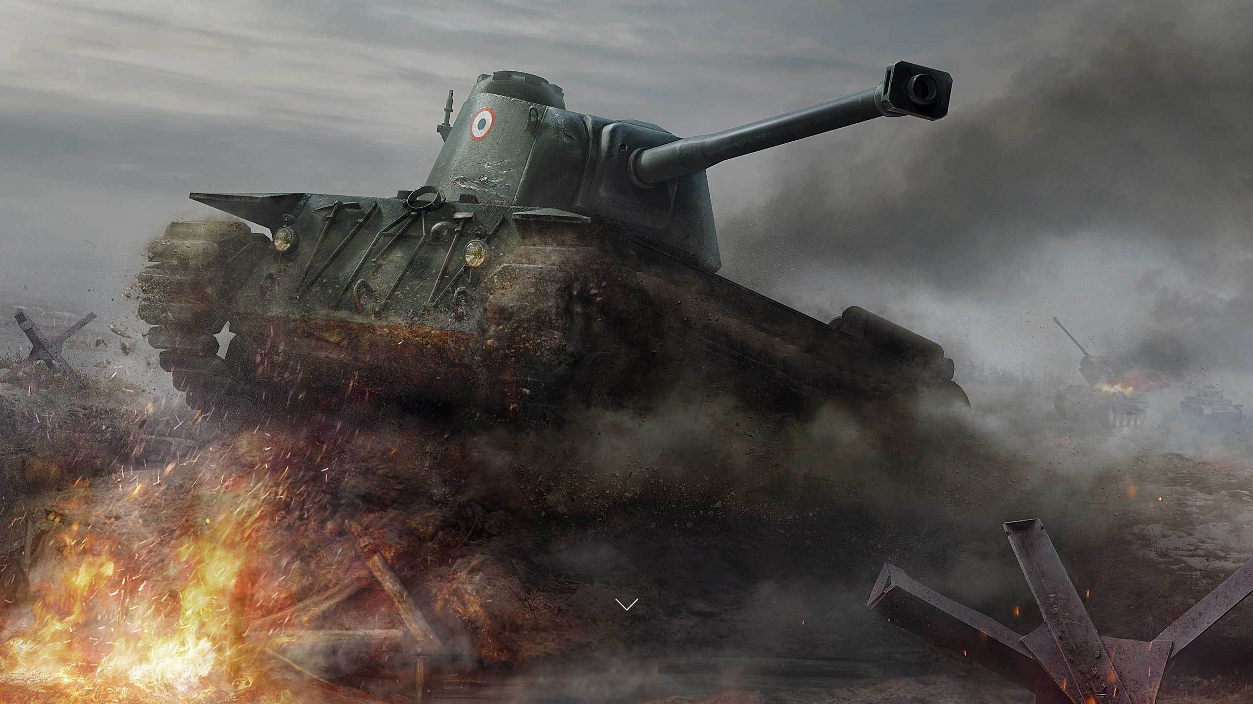 рисунок World Of Tanks FCM 50t