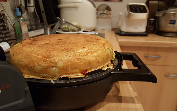 Капустный дюкановский пирог