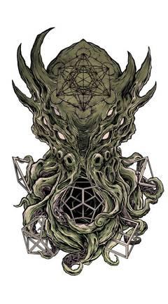 Арт-Прозрение. Образ Ктулху (яхве)
