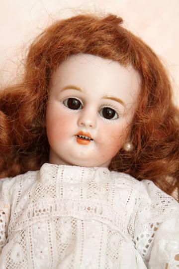 Антикварная немецкая кукла фабрики Simon&Halbig молд 1009