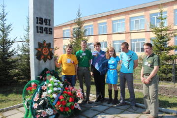 Поздравление ветеранов и вдов Пихтовского сельсовета.