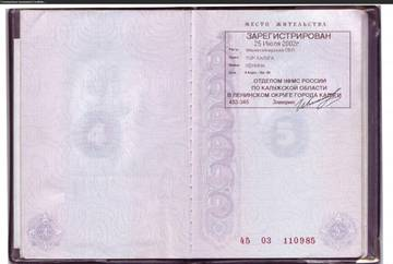 Образец Скан Паспорта - фото 6