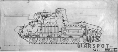 Т-34-М (А-43) - модернизированный средний танк Т-34 (1941 г.) AMbGy
