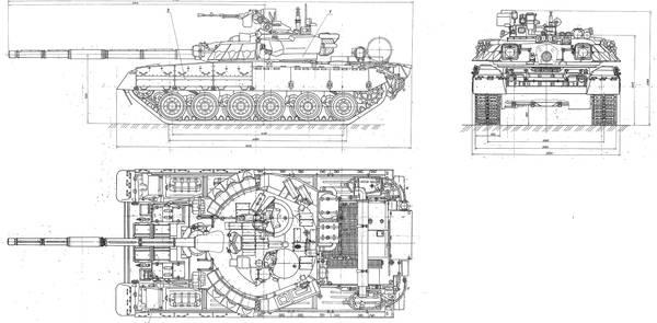 «Объект 478Д» - опытный основной боевой танк C7EwS