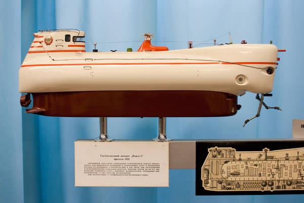 Проект 1832 «Поиск-2» - глубоководный аппарат LJM4c