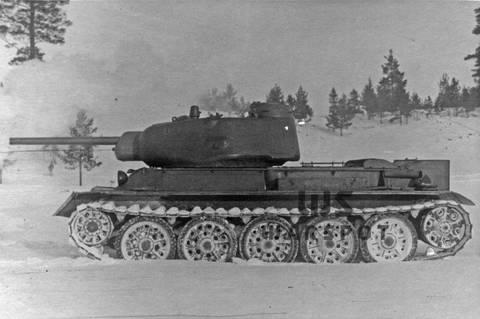 Т-43 - средний танк (1942 г.), опытный N13hS