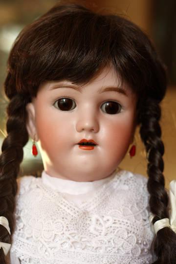 Немецкая антикварная кукла Handwerck - Halbig