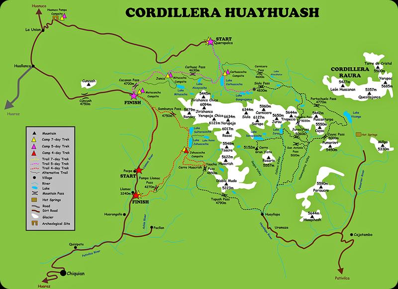Перу - 9 дней в Кордильерах (треккинг Huayhuash)