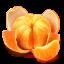 Лови апельсинку, удачливая ты наша!)
